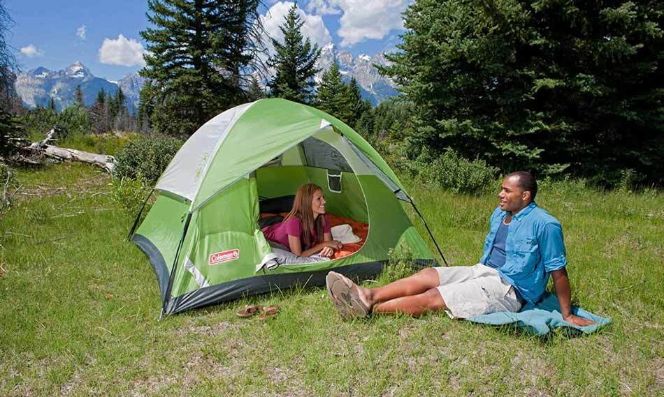 Coleman Dome Tent for Camping – Sundome Tent