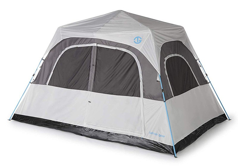 Tahoe Gear Padrio 8 Person Quick Set Tent