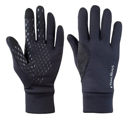 The Trailheads Men's Touchscreen Running Gloves