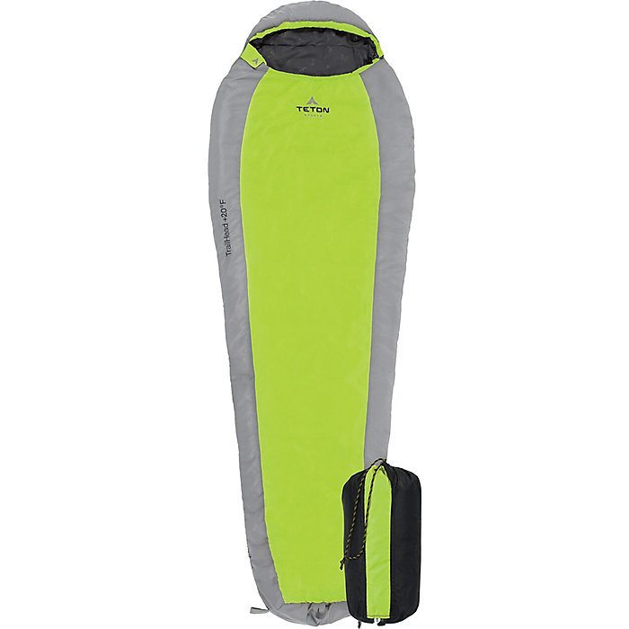 teton sports trailhead mummy bag